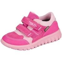Boty Děti Nízké tenisky Superfit Sport Mini Pink Kombi Velour Tecno Textil Růžové
