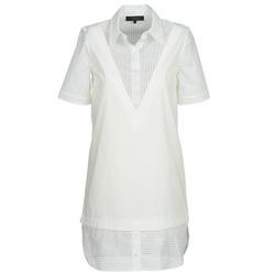Textil Ženy Krátké šaty American Retro CHARLOTTE Bílá