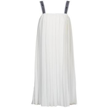 American Retro Společenské šaty VERO LONG - Bílá