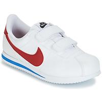 Boty Chlapecké Nízké tenisky Nike CORTEZ BASIC PRE-SCHOOL Bílá / Modrá / Červená