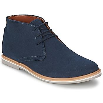 Boty Muži Kotníkové boty Frank Wright BARROW Námořnická modř / Plátěný