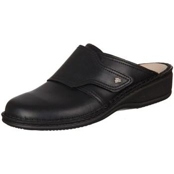 Boty Ženy Pantofle Finn Comfort Aussee Nappa Seda Černé