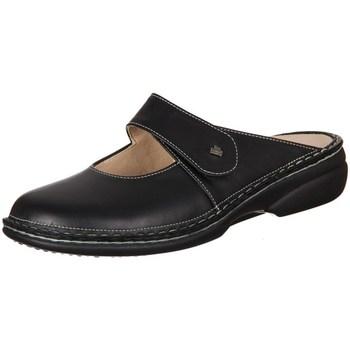 Boty Ženy Pantofle Finn Comfort Stanford Nappa Seda Černé