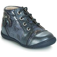 Boty Dívčí Kotníkové tenisky GBB NICOLE Modrá / šedý potisk