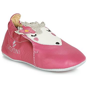 Boty Dívčí Papuče Catimini HERISSETTE Růžová