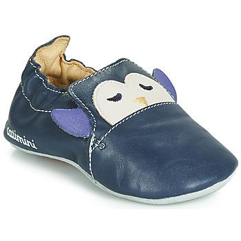 Boty Chlapecké Papuče Catimini PINGOU Tmavě modrá / Krémově bílá