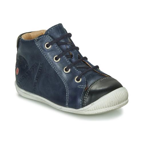 Boty Chlapecké Kotníkové boty GBB NOE Tmavě modrá