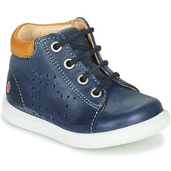 Boty Chlapecké Kotníkové tenisky GBB NERISSON Tmavě modrá