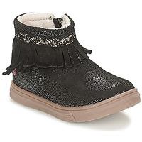 Boty Dívčí Kotníkové boty GBB NEFFLE Černá