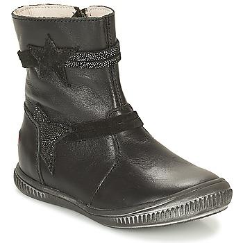 Boty Dívčí Kotníkové boty GBB NOTTE Černá