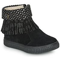Boty Dívčí Kotníkové boty Catimini PERETTE Černá