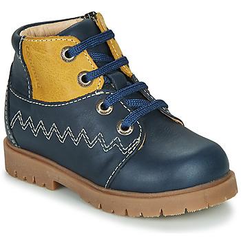 Boty Chlapecké Kotníkové boty Catimini CHARLY Tmavě modrá