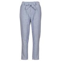 Textil Ženy Kapsáčové kalhoty Betty London IKARALE Modrá / Bílá