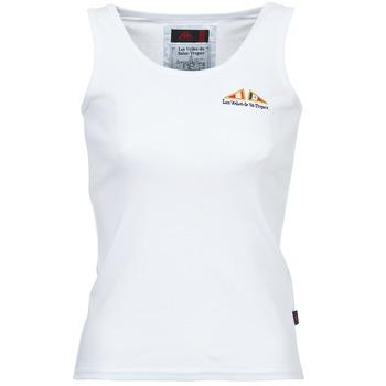 Textil Ženy Tílka / Trička bez rukávů  Les voiles de St Tropez BLENNIE Bílá