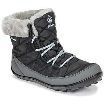Boty Děti Zimní boty Columbia YOUTH MINX SHORTY OMNI-HEAT™ WATERPROOF Černá