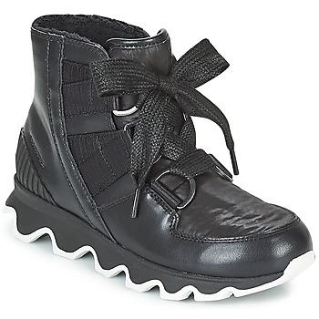 Boty Ženy Zimní boty Sorel KINETIC™ SHORT LACE Černá
