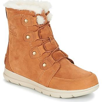 Boty Ženy Zimní boty Sorel SOREL™ EXPLORER JOAN Velbloudí hnědá