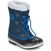 Boty Děti Zimní boty Sorel YOOT PAC NYLON Tmavě modrá