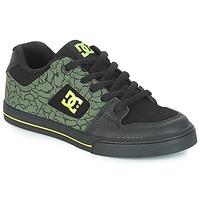 Boty Děti Nízké tenisky DC Shoes PURE SE B SHOE BK9 Černá / Zelená