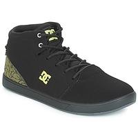 Boty Děti Kotníkové tenisky DC Shoes CRISIS HIGH SE B SHOE BK9 Černá / Zelená