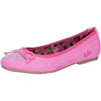 Boty Dívčí Baleríny  Lulu Baleríny AG639 Růžový
