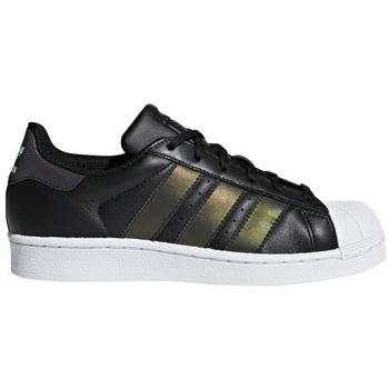 adidas Tenisky Dětské Superstar - Černá