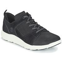 Boty Muži Kotníkové tenisky Timberland FlyRoam Leather Oxford Černá