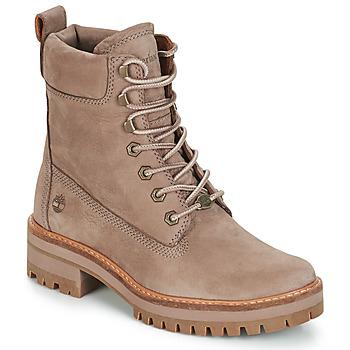 Boty Ženy Kotníkové boty Timberland Courmayeur Valley YBoot Šedobéžová