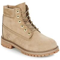 Boty Děti Kotníkové boty Timberland 6 In Premium WP Boot Béžová