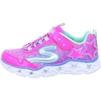 Boty Dívčí Nízké tenisky Skechers Galaxy Lights Kinder Růžové