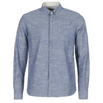 Textil Muži Košile s dlouhymi rukávy Casual Attitude IPODRUM Modrá