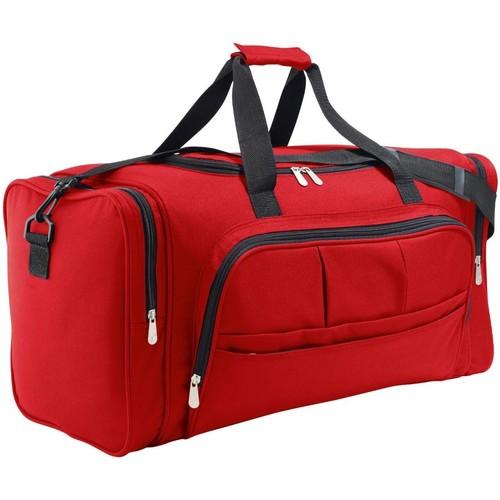 Taška Sportovní tašky Sols WEEKEND TRAVEL Rojo