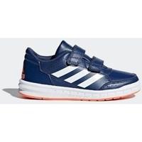 Boty Děti Šněrovací polobotky  & Šněrovací společenská obuv adidas Originals Altasport CF K Modré,Tmavomodré