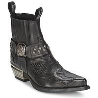 Boty Ženy Kotníkové boty New Rock PRETO Černá