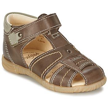 Boty Chlapecké Sandály Primigi LARS E Hnědá