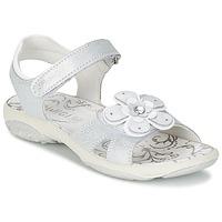 Boty Dívčí Sandály Primigi LINA Bílá / Stříbřitá