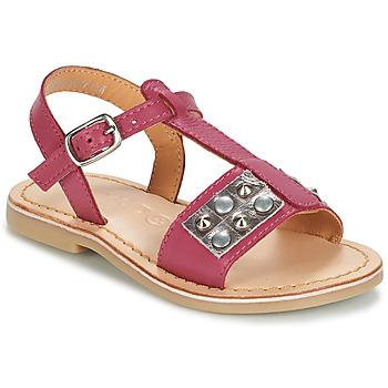 Boty Dívčí Sandály Mod'8 ZAZIE Růžová
