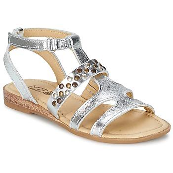 Boty Dívčí Sandály Mod'8 JADE Stříbřitá