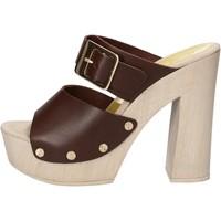 Boty Ženy Sandály Suky Brand Sandály AC765 Hnědý