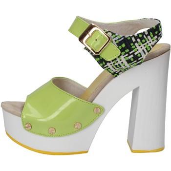 Boty Ženy Sandály Suky Brand Sandály AC811 Zelená