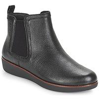 Boty Ženy Kotníkové boty FitFlop CHAI Černá