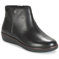 Boty Ženy Kotníkové boty FitFlop ZIGGY ZIP Černá