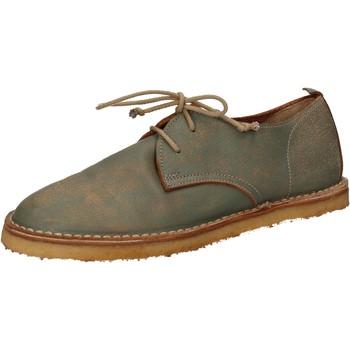 Boty Ženy Šněrovací polobotky  & Šněrovací společenská obuv Moma AD49 Zelená