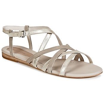 Boty Ženy Sandály Marc O'Polo PRAVA Béžová / Stříbřitá