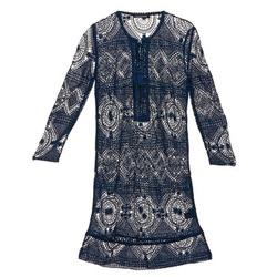 Textil Ženy Krátké šaty Antik Batik LEANE Tmavě modrá
