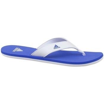 Boty Děti Žabky adidas Originals Beach Thong 2 K Bílé, Modré