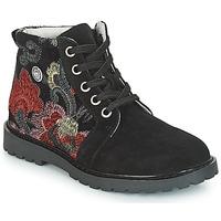 Boty Dívčí Kotníkové boty Catimini CAHAUT Černá