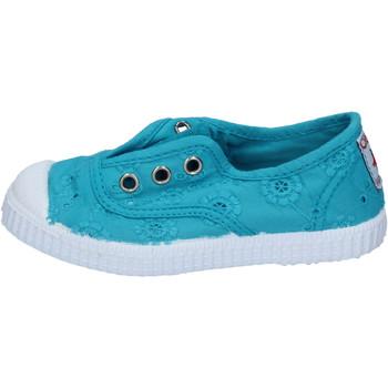 Boty Dívčí Tenis Cienta AD784 Modrá