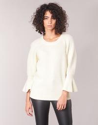 Textil Ženy Svetry MICHAEL Michael Kors SHAKER ROUND SLV Bílá