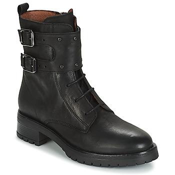 Boty Ženy Kotníkové boty Ikks REGNAUT Černá